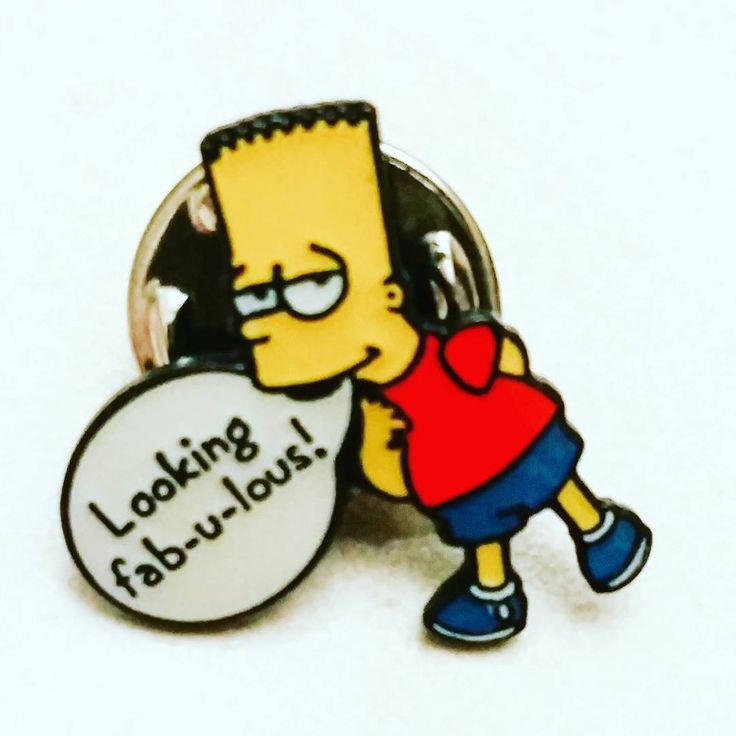 Well who else is feeling #fabulous on this wonderful #wednesday #pinbadge #pins #pingame #pingamestrong #enamelpins #characterpins #simpsons