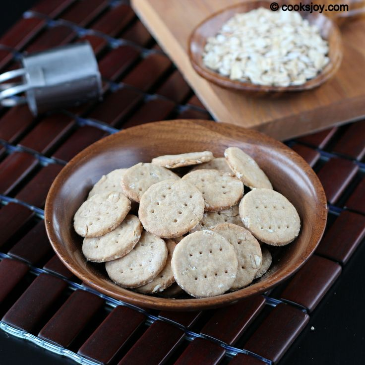 Oat Crackers on http://cooksjoy.com/blog | Recipes To Try - Breads/Sw ...