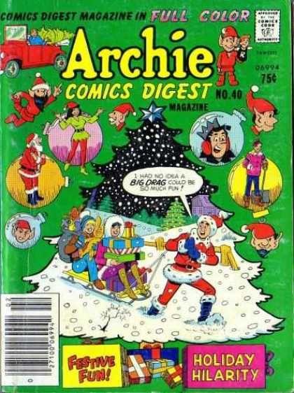 Full Color - Christmas - Snow - Sled - Christmas Tree