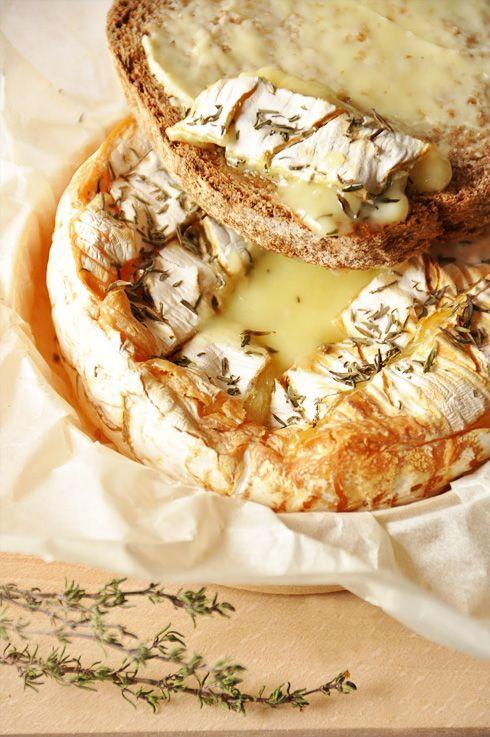 Camembert de Normandie rôti au four