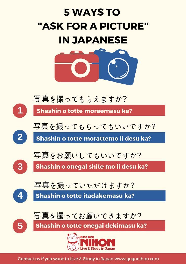 Japanese is a complex language and there are many ways to