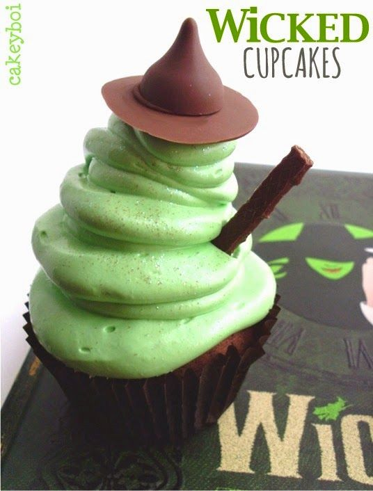 wicked musical cupcakes