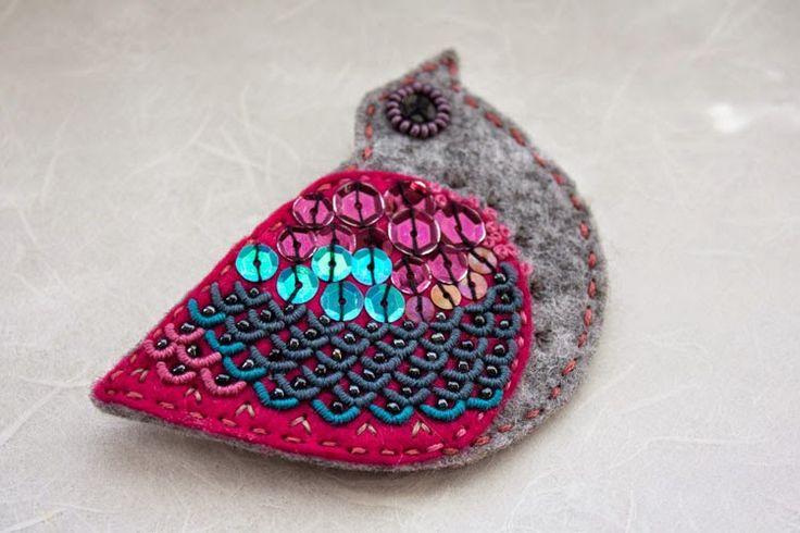 polandhandmade.pl #polandhandmade #embroidery #felt