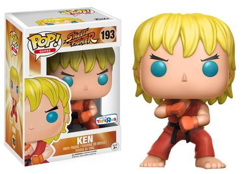 Funko releasing Special Attack Ken (toys'r'us exclusive) from Street Fighter
