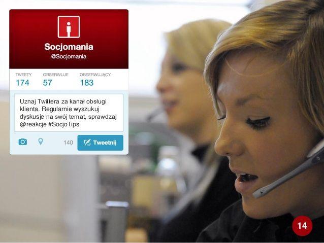 50 Twitter Tips (14). Full presentation: http://www.slideshare.net/Socjomania/50-porad-jak-dziaac-na-twitterze  #Twitter #TwitterTips #SocialMedia #SocialMediaTips