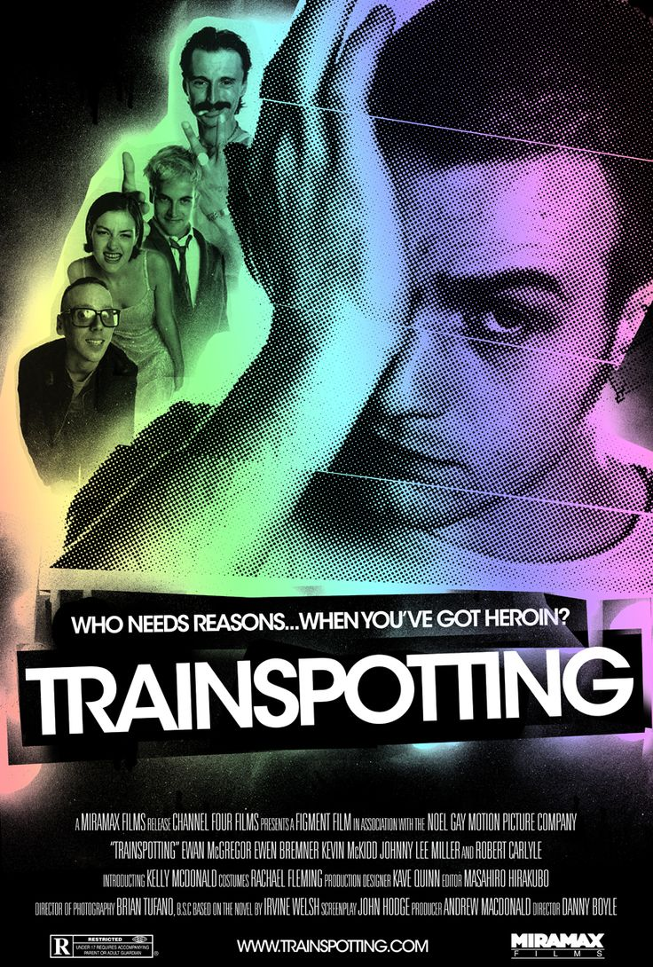 Image result for trainspotting poster