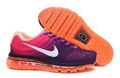 Nike Air Max 2017 Purple Pink Orange Running Shoes(40-46)