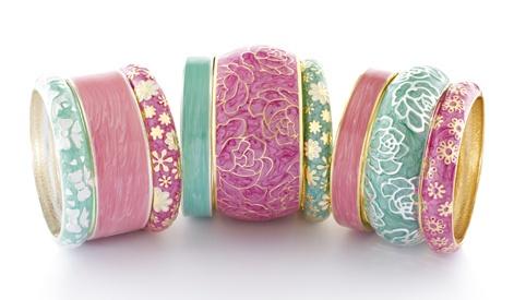 colors: Jewelry Horlog Sieraden, Decid Witch, Interesting Bracelets, Jewelry Horlogessieraden, Limon Bangles, Fashion Jewelry, Pretty Bangles, Sal Bracelets, Couture Fashion