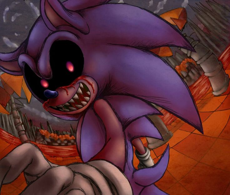 35 Best Images About Dark Sonic, .exe & Fleetway On