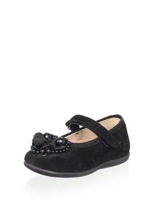 55% OFF OCA-LOCA Kid's Beaded Mary Jane (Black)
