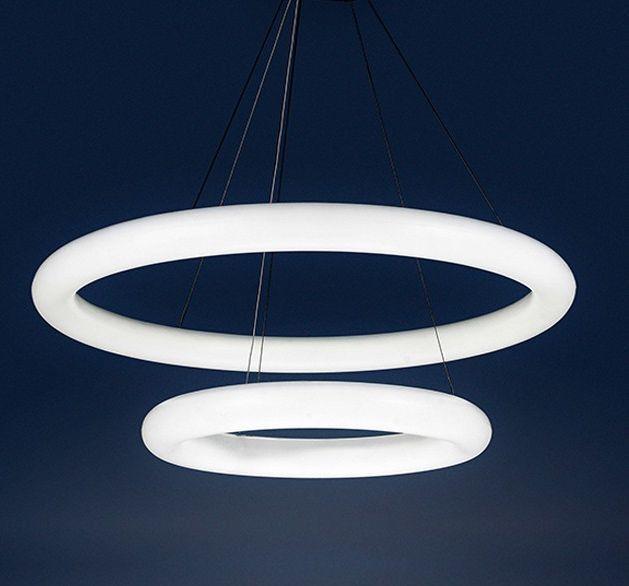 Lampa wisząca ANGEL 2 LED AZzardo 2719/740+460 - Cudowne Lampy