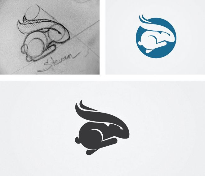 Rabbit #logo by Stevan Rodic