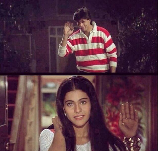Shahrukh Khan and Kajol - DDLJ (1995)