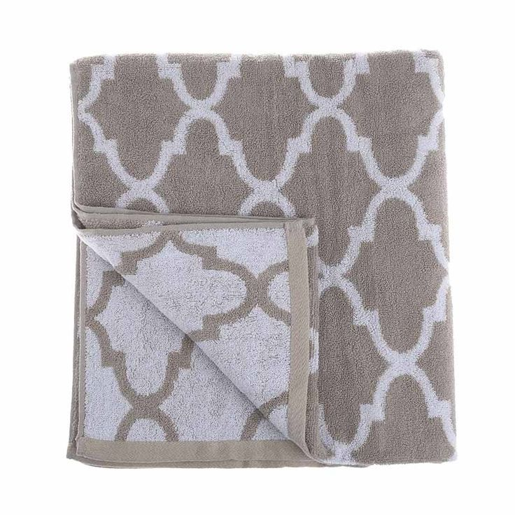 BEACH TOWEL TREND BEIGE - Towels