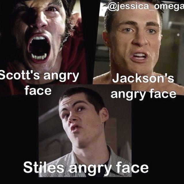Y mi cara de enojo es la misma de todos los dias