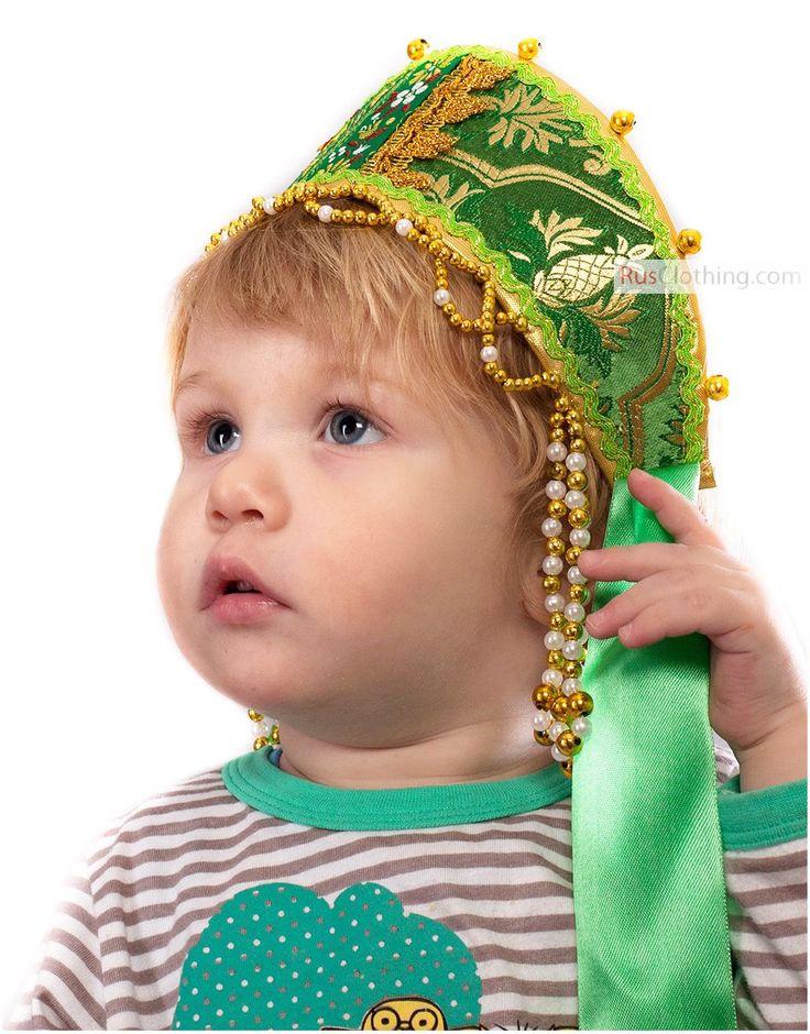 Russian headdress - Kokoshnik Sudarinya | RusClothing.com