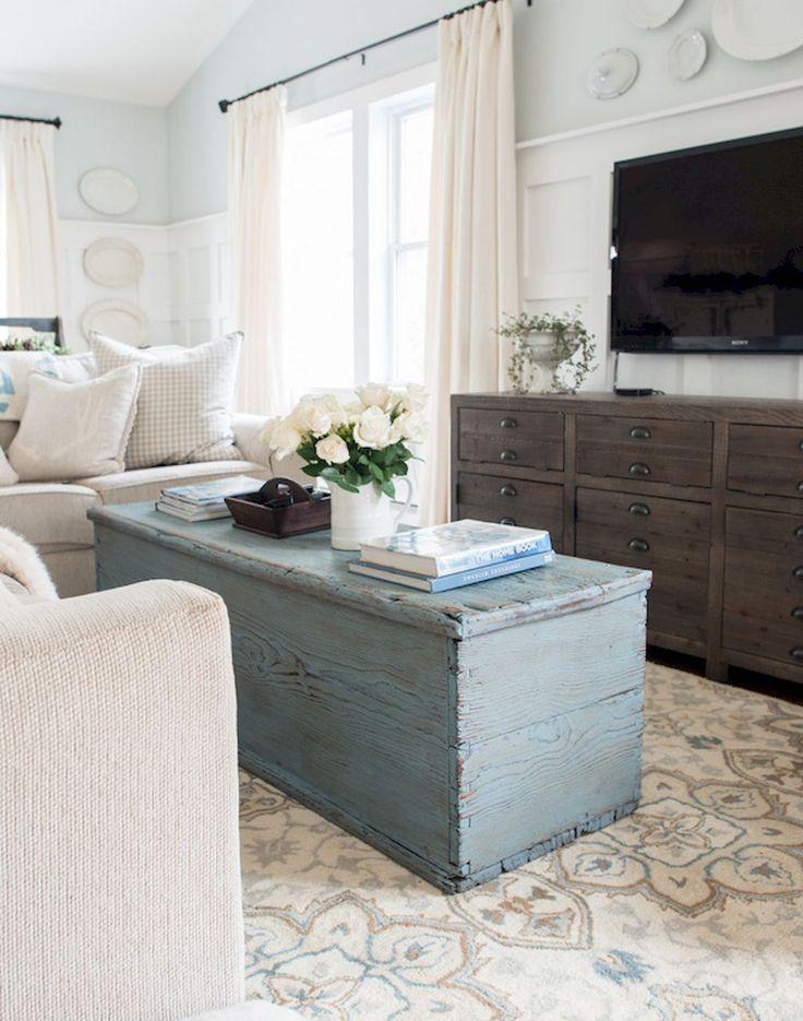 Modern Farmhouse Living Room Decor Ideas (18