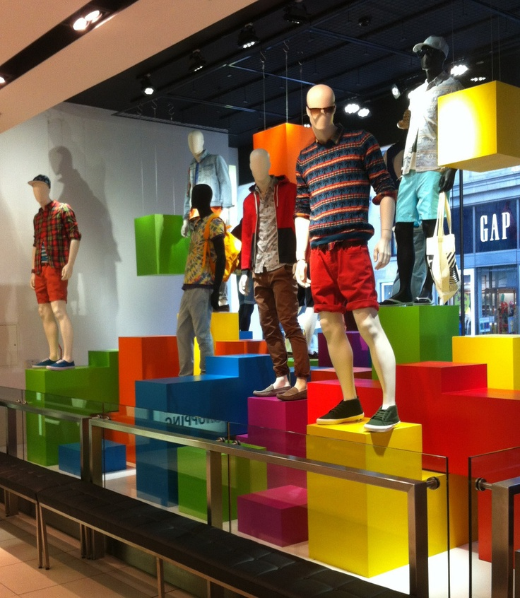 Pin by arkade display on window display- cubes/risers ...