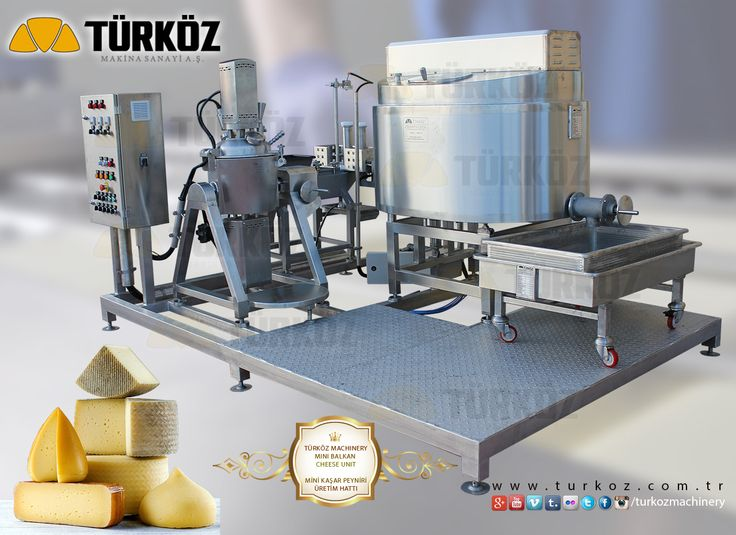 Türköz Machinery Mini Balkan Cheese Plant - Kashar Kashkaval Türköz Makina Mini Kaşar Peyniri Ünitesi
