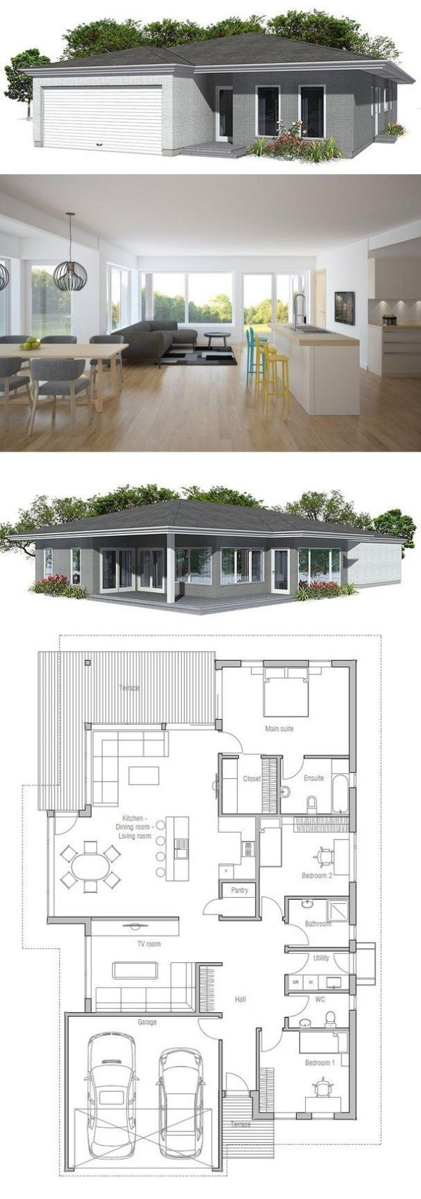 House Plan from ConceptHomecom by terri 54