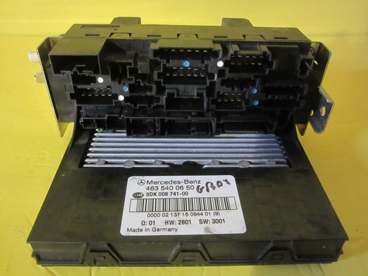 FUSE BOX 2001 UP TO 2006 Mercedes G 500 4635400650 OLD