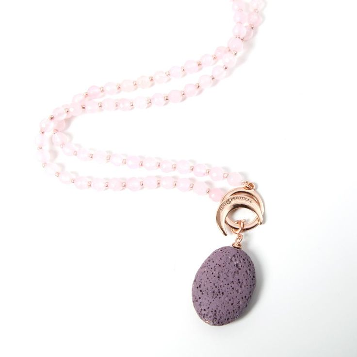 Lava Stone Ambition Amplifier - Rose Gold by Tiny Devotions