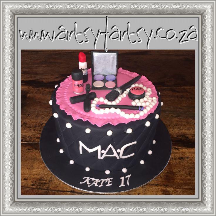 MAC Makeup Cake #Macmakeupcake