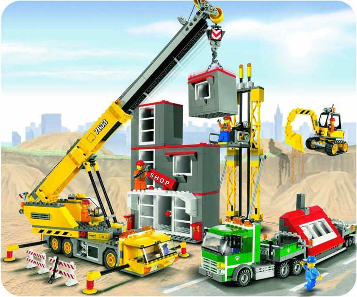 Lego - 7633 - Jeu de construction - Lego City - Le chantier: Amazon.fr: Jeux et Jouets