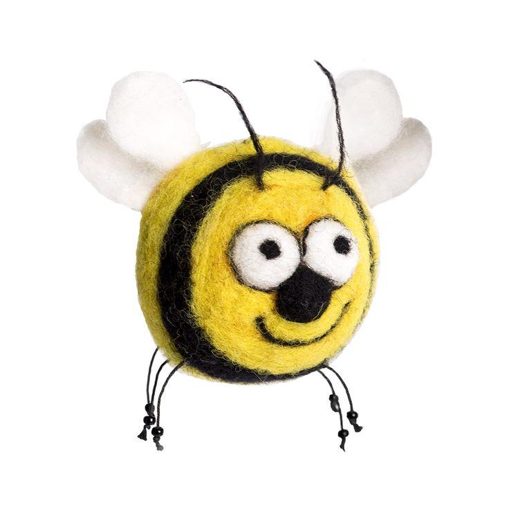 "Набор для валяния ""Пчела Пчелетта"", арт. WT-0119, ТМ Woolla"