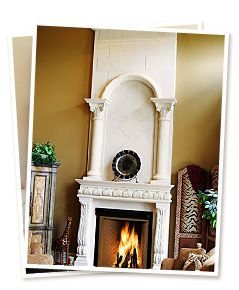 17 best images about fireplaces on pinterest mantels for Renaissance rumford fireplace