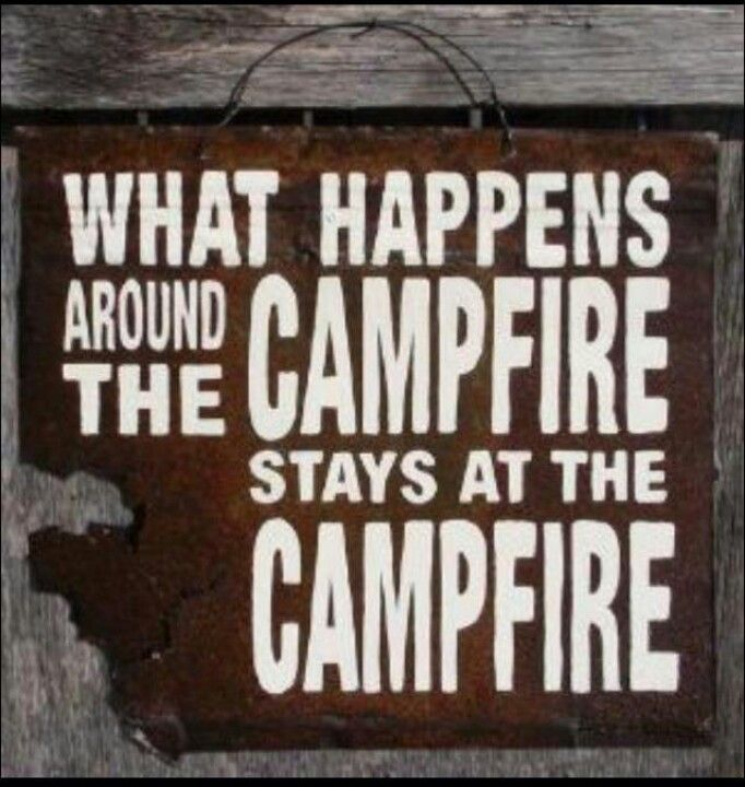 Oh man...I can think of a few times during campfire charades....