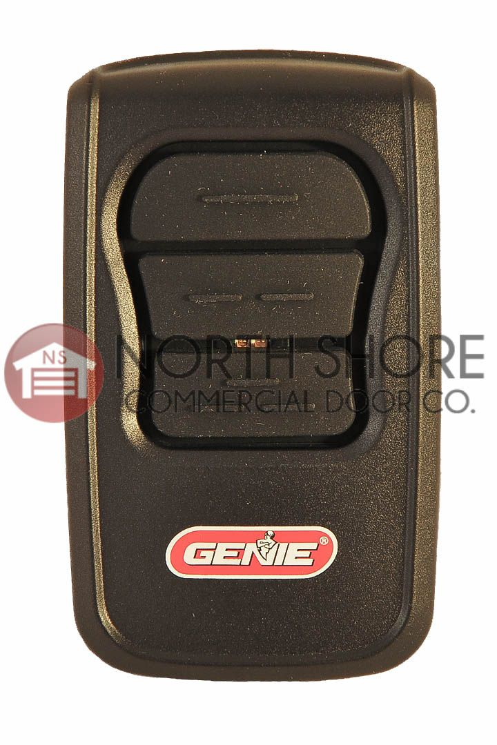 Genie GM3T-BX Genie Master Universal Garage Door Remote. This Genie Remote will work on ANY Genie Garage Door Opener That is newer than 1993. Low price of $24.50 From NorthShoreCommercialDoor.com   *$4.95 Flate Rate Shipping on Most orders! Fast Shipping Great Customer Service