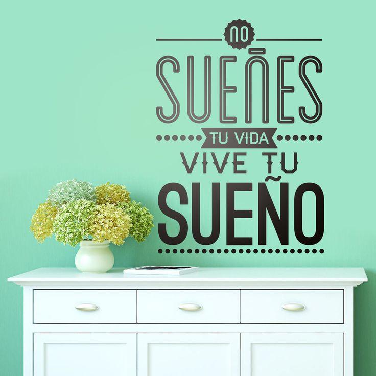 130 best images about vinilos frases c lebres on pinterest - Teleadhesivo vinilos decorativos espana ...