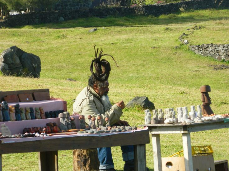 12 THINGS YOU MUST DO ON EASTER ISLAND Buy souvenirs from local craftsmen