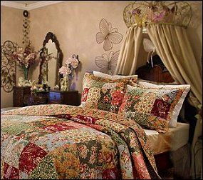 Vintage Victorian Decorating Ideas |  Antique_Chic_bedding Vintage_style_bedroom_decorating_ideas