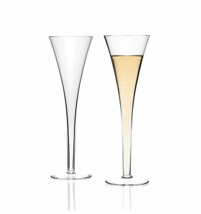 Leonardo wine glass architecture of the wine glass flute champagne nice