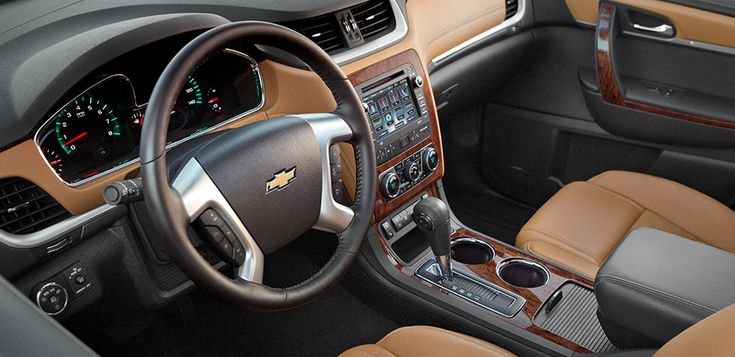 "Mid-Size SUV Family SUV 2014 Traverse Interior {{""MINE"" looks just like this :):):)...}}"