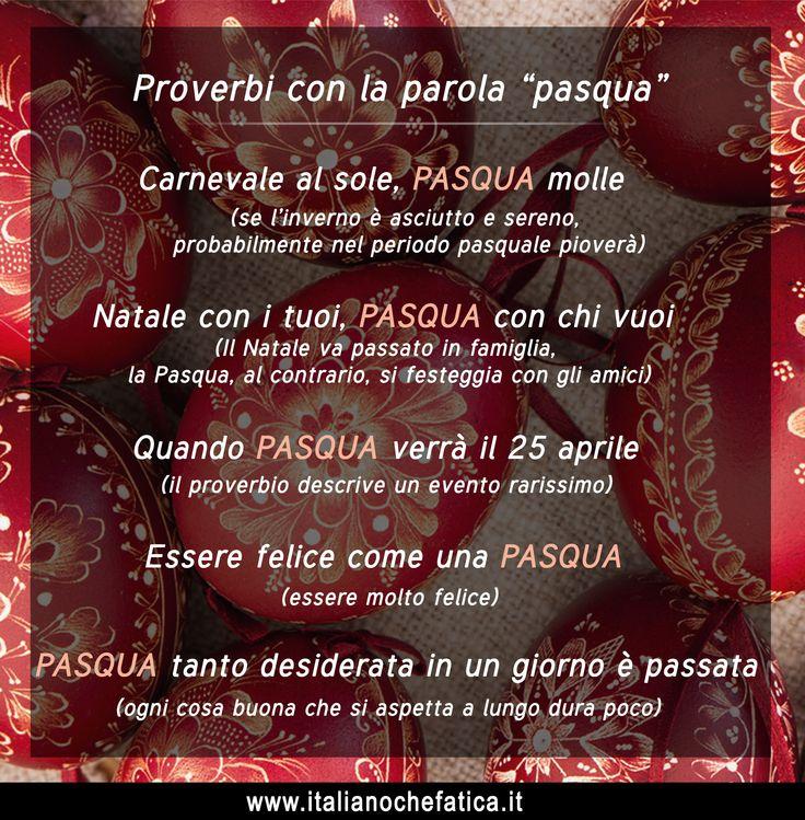 Великдень в Італії багатий не тільки на веселі святкування та вікові традиції, а й на велику кількість прислів'їв та приказок. У статті знайдете також пояснення до них! http://www.italianochefatica.it/uk/italijski-pryslivia-pro-velykden/ #proverbi #italiani #italiano #studiareitaliano #linguaitaliana #італійська #італійськамова #італійськіприслівя