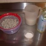 Papier mache PULP recept met olie, krijt en azijn
