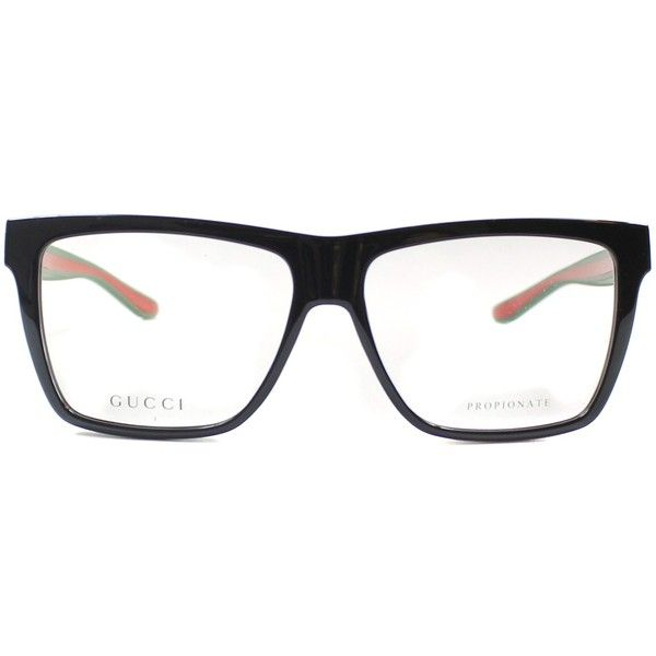 Gucci GG 1008 51N Optical Frame, Order Online at Gaffos.com (10.480 RUB) ❤ liked on Polyvore featuring accessories, eyewear, eyeglasses, gucci eyewear, gucci, gucci eyeglasses, gucci eye glasses and gucci glasses