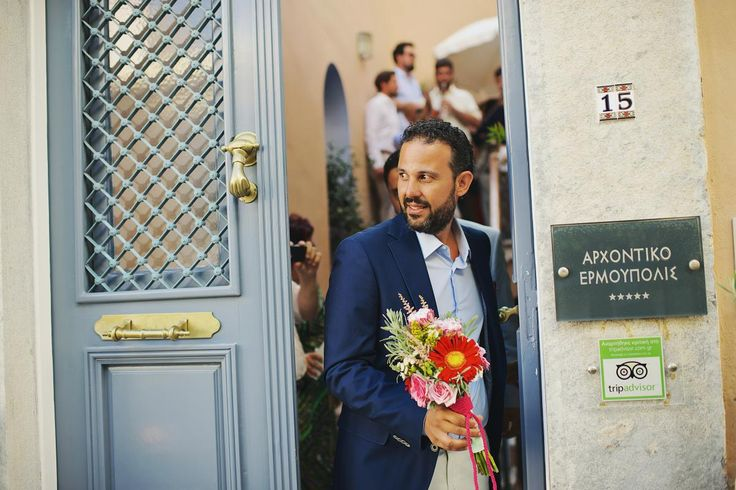 Grand 'souxe' Wedding, groom ready to go, syros, arhontiko hermoupolis, cyclades | lafete