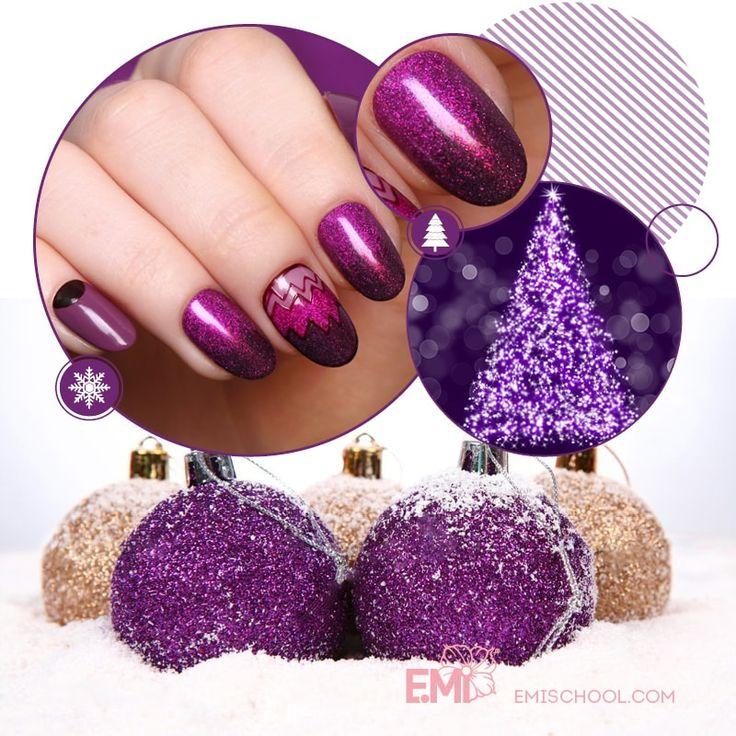 xmas design nail art of EMi #Emimanicure • xmas nails easy • xmas nails designs • xmas nails art • xmas nails winter • xmas nails red • xmas nails shellac • xmas nails blue • xmas nails glitter • xmas nails simple • xmas nails sparkly • xmas nails diy • xmas nails black • xmas nails pink