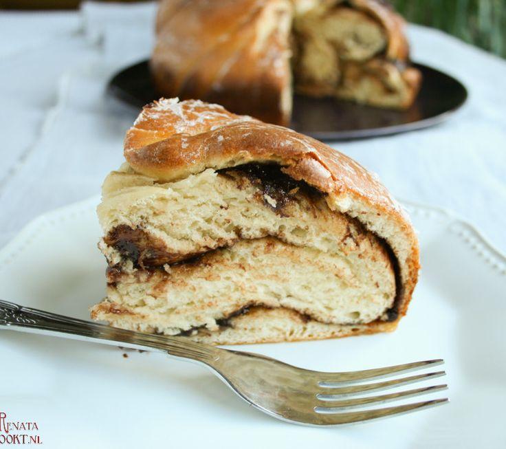 Nutellabroodje #nutella #brood #recept #bakken te vinden op renatakookt.nl