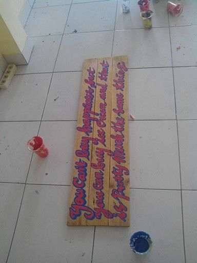 Wood quote about Ice Cream desain