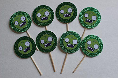 8 PVZ Cupcake Picks Birthday Garden Warfare Plants Zombie... https://www.amazon.com/dp/B01GSH59HC/ref=cm_sw_r_pi_dp_x_1jm3ybNZCSW5T