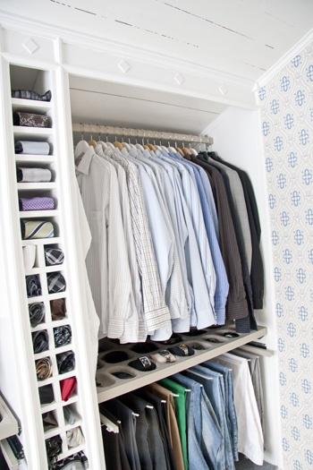 Hildas hem: klädkammare