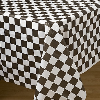Sock Hop Table Cloth For 50u0027s Party