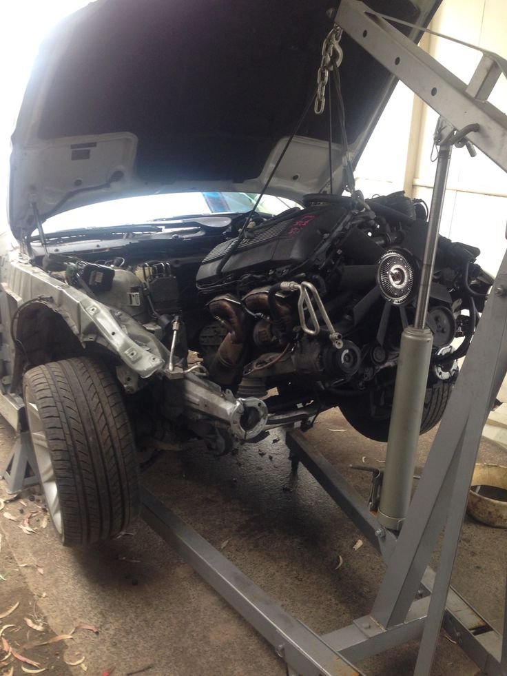 In the beginning there was a donor motor, and it was good.  M54 from E39 with 20,000km