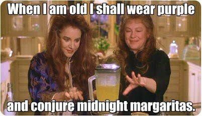 Practical Magic - Obviously this is what i will be doing. And I will sing the song too. And dance around the table.