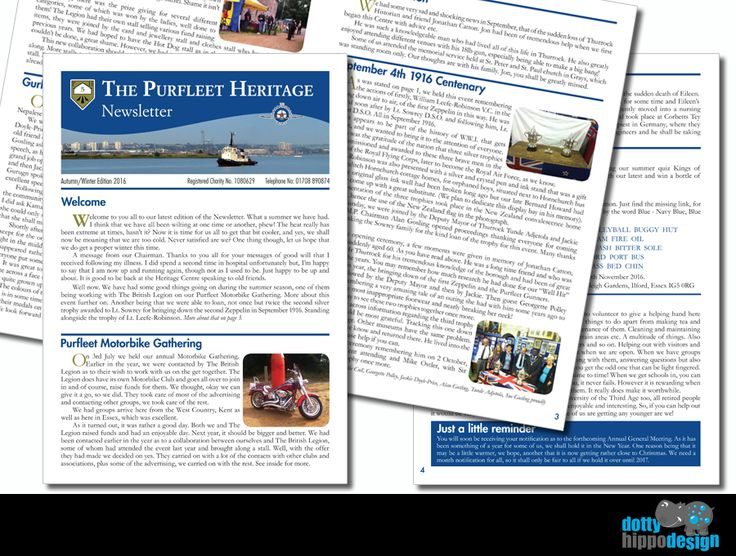 Latest newsletter for Purfleet Heritage Centre
